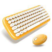 复古打字机造型无线键鼠办公套装 公司活动奖品买什么好