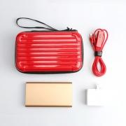 创意数码旅行套装(移动电源+定时数据线+旅行充电器+裘莉包)拓展活动小礼品