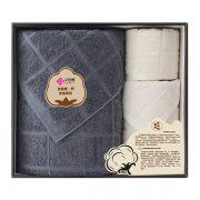 【洁丽雅】浴巾方巾面巾三件套套装 全棉优品-6 送什么小礼品给客户