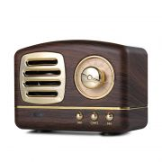 创意复古蓝牙音响 迷你便携式铝合金带FM蓝牙小音箱 房地产交房礼品