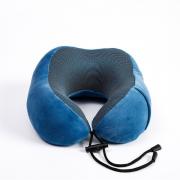 慢回弹记忆棉旅行U型枕磁布保健创意颈枕 20元左右的小礼品