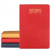 2020年商务日程本 年历本 工作计划笔记手账本 广告宣传小礼品