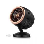 时尚科技感静音桌面风扇 循环送风 双扇翼设计 触控开关 创意科技感礼品