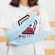 夏季冰爽防晒护臂有指冰丝袖套 手臂套
