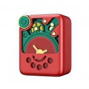 REMAX 玲珑AI智能蓝牙音箱 复古式猫王迷你音箱低音炮