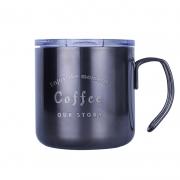 创意工业风咖啡杯 复古马克杯茶水杯 公司纪念礼品