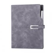 【2020】年历本日程本带笔记事本 皮扣设计带笔效率手册手账月计划本