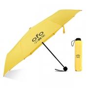 长绳折叠纯色折叠伞 促销广告宣传礼品伞定制