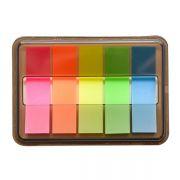 创意荧光透明小便签彩色便利贴 便宜创意礼品
