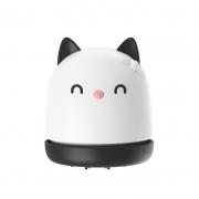 小巧猫咪桌面吸尘器 纸屑橡皮屑键盘清理器吸尘器 便宜实用的小礼品