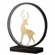 现代简约创意北欧台灯 三色柔光触摸调控 公司周年庆礼物