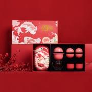 鲤遇2020新年礼盒套装 便携茶具套装 春节送客户什么礼品