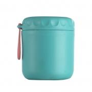 日式带盖密封304不锈钢汤杯汤罐 手提便携便当盒粥汤保温杯 员工生日礼品