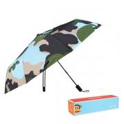 【大嘴猴】Paul Frank 迷彩风时尚抗强风折叠雨伞 培训礼品