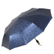 商务菱形格子全自动折叠雨伞 男士防晒三折晴雨两用伞 洗车修车赠送的小礼品有哪些