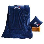 多功能水晶绒抱枕被 加密加厚面料 保暖靠背抱枕 冬天小礼品