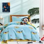 【大嘴猴】Paul Frank 海底世界天蓝纯棉床上用品套件 公司员工礼物
