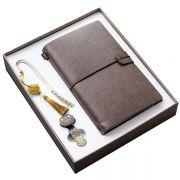 中国风青铜16gU盘+笔记本+书签礼品三件套装 送客户实用小礼品