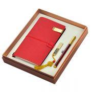 A5记事本子+16GU盘签名笔礼盒三件套 便宜实用的小礼品