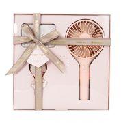 USB小风扇礼盒装充电宝数据线套装 送客户礼物送什么好