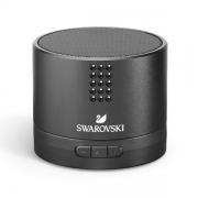 施华洛世奇(SWAROVSKI) 蓝牙音箱(黑色) 15颗镶嵌水晶迷你便携音响 创意高档礼品