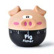 创意卡通小猪闹钟 厨房计时器 展会礼品