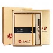 商务精美A5笔记本+签字笔两件套礼盒装 会议礼品定制