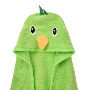珊瑚绒连帽 素色浴巾 可爱卡通斗篷披风沙滩浴巾 儿童促销礼品