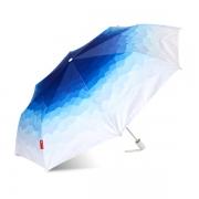 原创个性渐变色文艺清新折叠防晒伞太阳伞 实用型促销礼品