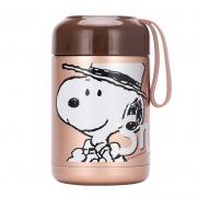 【史努比】卡通焖烧杯 不锈钢保温桶壶罐SP-C128G 送客户礼品推荐