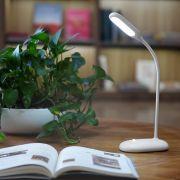充电式简约可调光LED护眼小台灯 创意小礼品定制
