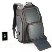 黑科技太阳能充电双肩包 大容量耐磨耐用 创意商务礼品