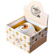 时尚实用卡通陶瓷马克杯1杯1勺彩盒装 比较实用的小礼品