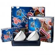 【日式国范】四方碗系列碗筷礼盒套装 实用礼品有哪些