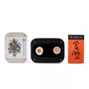 精装版四季食历 日历+麦子饭盒+鸡蛋冰箱贴+二十四节气胶带组合套装 给客户送礼品