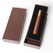 如意金箍棒黑胡桃木智能吹气点烟器  高端商务礼品