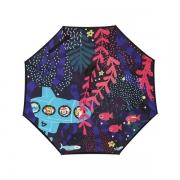 【大嘴猴】Paul Frank 抗强风防晒卡通图案反向伞 汽车礼品