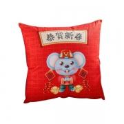 鼠年新款抱枕被 舒适柔软 亲肤面料 新年礼品方案