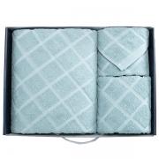 【迪士尼】花木兰套巾大礼盒套装毛巾+浴巾+方巾 精致创意小礼品