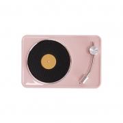 复古黑胶无线蓝牙音箱 小清新便携音响生日礼物 企业赠送小礼品