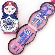 可爱娃娃修甲六件套装 有创意的小礼品