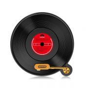 黑胶碟唱片机造型无线充电器 创意小礼品