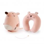 【米奇鼠】鼠年特别版卡通U型两用枕 创意时尚礼品
