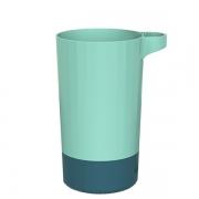 简约北欧撞色洗漱杯 家用旅行便携塑料杯 实用活动奖品