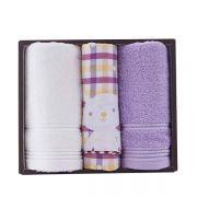 【洁丽雅】亲子系列三件套(毛巾*2 童巾*1) 互动小礼品