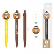 【来图定制】PVC软胶笔定制 吉祥物企业元素圆珠笔/中性笔定做