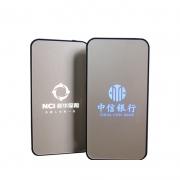 【发光LOGO定制】商务超薄6000毫安移动电源礼盒装 广告礼品定制