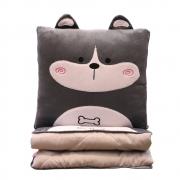 卡通多功能抱枕被 办公室汽车抱枕靠垫两用 游戏奖品买什么好