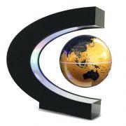 创意摆件磁悬浮炫光地球仪LED灯 黑科技礼品