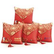 【可刺绣】中国风带中国结空调抱枕被 保险促销礼品